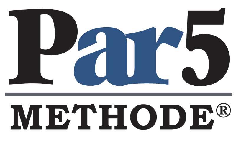 De Par5 methode logo