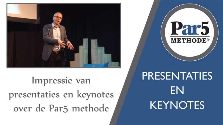 Acquisitie presentatie van de Par5 methode