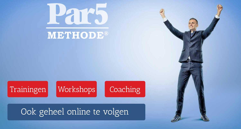 Acquisitie training over de Par5 methode